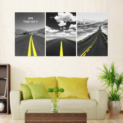JZ10 Highway Pattern Home Precision Print Decorative Canvas Painting