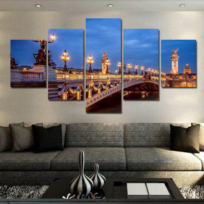 Bridge Landscape Pattern Home Decorative Paint Wall Painting