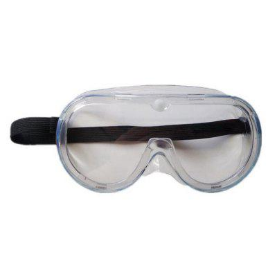 SYJF 115 Fully Enclosed Protective Googles Anti-splash Safety Eyewear Wind Dust Proof Eye Protector PVC Frame PC Lens 2pcs