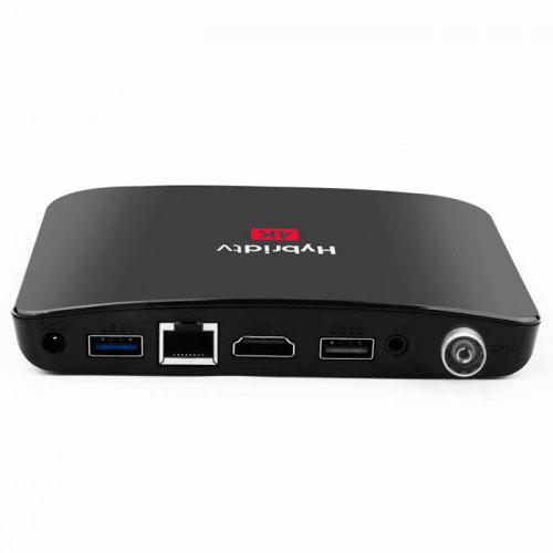 MECOOL M8S Plus DVB-T/T2 4K TV Box Amlogic S905X2 Android 9.0 Media Player 2.4GHz WiFi 100Mbps USB3.0 Support Youtube Netflix Prime Video