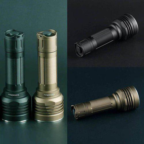 Convoy MK M26C Super High Brightness SST40 Lamp Beads Flashlight Max 2300lm with Temperature Controlling Thermal Electricity Separation