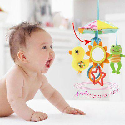 Wind Chimes Bell Baby Rattle Toy Stroller Crib Pram Bed Hanging Toy Accessories Children Rotating Plush Appease Soothing Toys