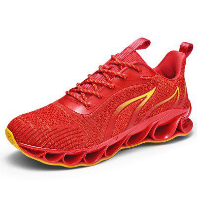 AILADUN ademend mesh Geweven Schoenen Sports Running Shoes