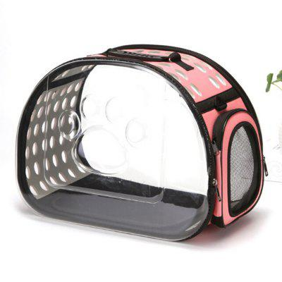 Pet Carrier Supplies Outdoor Portable Transparent Carrying Bag Travel Pack