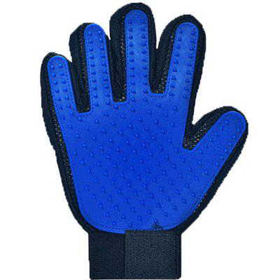 Cat Pet Clean Rubber Gloves Remove Hair Brush Pet Grooming Massage Gloves
