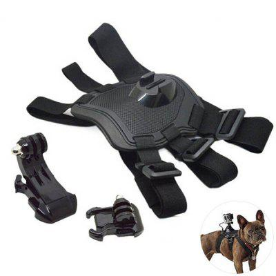 Pet Dogs Chest fijo correa con Base arnés del perro Gopro Hero4 / 3 + / 3 Partes