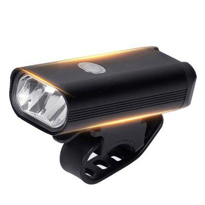 Bicycle Night Riding Light Set Mountain Bike Headlight Tail Lamp MTB USB Charging Cycling Equipment
