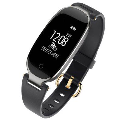 S3plus Donna Impermeabile Monitor Della Frequenza Cardiaca Tracker Fitness Orologio Intelligente per Android iOS