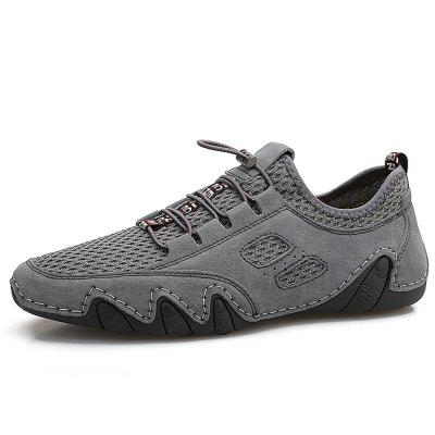 IZZUMI Men Fashion Leisure Shoes Breathable Mesh Outdoor Sports Footwear
