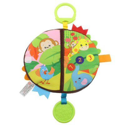 Fun Educational Cloth Book Baby Early Education Toy