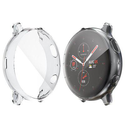 ENKAY Smart Watch All-inclusive Transparent TPU Protective Shell for Samsung Galaxy Watch Active 2 40mm
