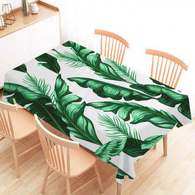 Modern Print Kitchen Tablecloth Waterproof Oil-Proof and Stain Resistant Table Cover