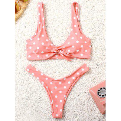 Femeile Cute Split, in costum de baie sexy imprimare Low Waisted super-elastic Bikini