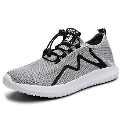 AILADUN Men Summer Sneaker Breathable Mesh Sports and Leisure Shoes