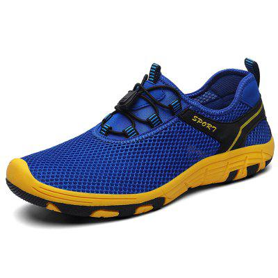 AILADUN Summer Men Sneaker Breathable Mesh Casual Sports Shoes