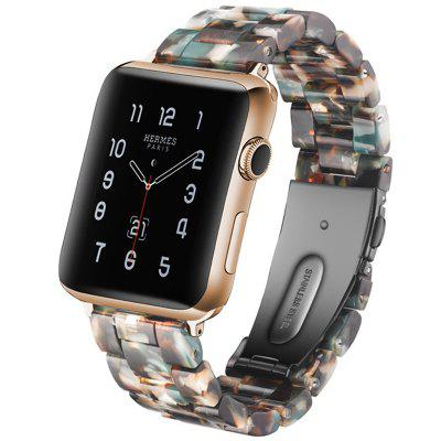 Unisex Fashion Strap Generous Stainless Steel Armband voor Apple Watch