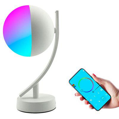 BRELONG Semplice Wireless WiFi Smart Luna Camera da Letto Lampada di Controllo APP a LED