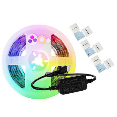 GLEDOPTO GL-MC-001S2 Smart 5V ZigBee Mini RGBCCT LED Streifen Licht 2M mit Controller IP65 Wasserdicht Kit USB Interface