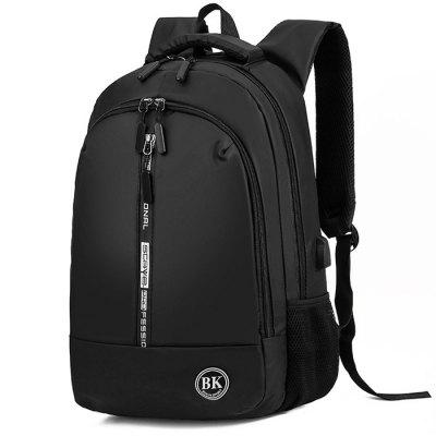 Men Business Backpack Lightweight Water Resistance Computer Bag