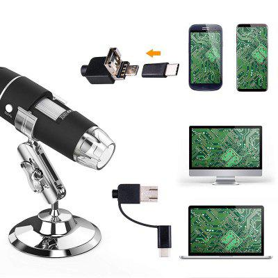 XMZ-0046 1000X HD Digital Microscope 3MP Pixel Electron Wired Optical Instrument