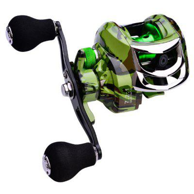 PRO BEROS Metal Droplets Wheel Axis 18 + 1BB Bearings Ratio 7: 1: 1 Line Capacity Fishing Reel