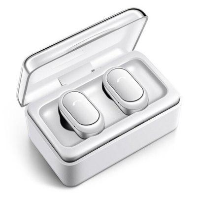 Bluetooth 5.0 Earbuds Mini TWS Wireless Earphone Stereo Sound Headphone with Charging Box for iPhone Xiaomi Huawei Smartphone