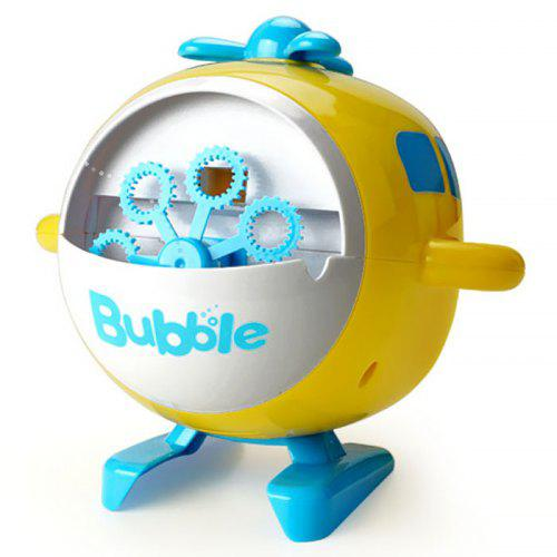 JJRC V07 Helicopter Model Cute Eco-friendly Bubble Machine Automatic Bubble Blowing USB Charging