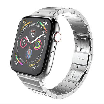 Unisex Fashion Borg Steel Watchband Stainless Steel Solid Metal Strap for Apple Watch