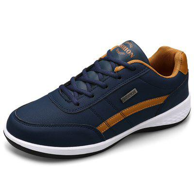 IZZUMI Men Shoes Spring and Autumn Fashion British Style Low-top Outdoor Casual Travel Footwear