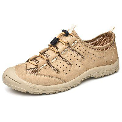 AILADUN Men Casual Schoenen British Style Mode Outdoor ademende ronde neus Footwear