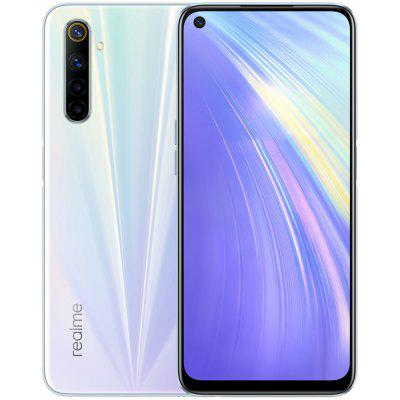 OPPO realme 6 4G Smartphone MediaTek Helio G90T CPU Octa-core 2.05GHz Android 10 8GB 128GB 6.5 inches 64MP AI Quad Camera 4300mAh Battery Global Version Image