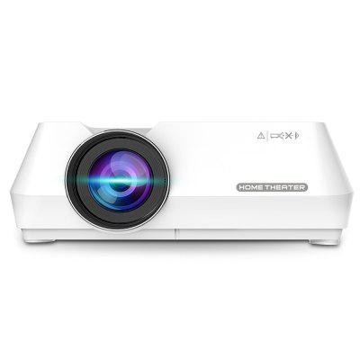Bilikay GT-S8 800 x 480 Portable Multimedia LCD Projector with HDMI USB AV VGA supports 720P TF interface for Home Theater