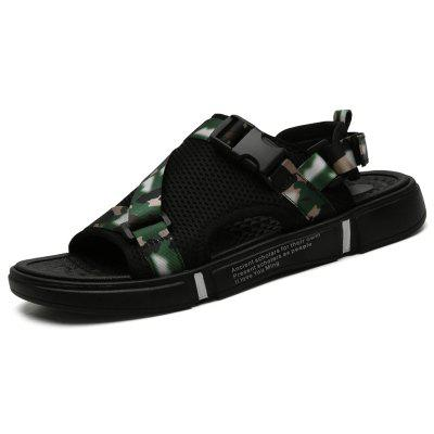 AILADUN Men Summer Sandals Personalized Breathable Slippers
