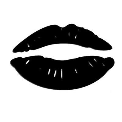 Kiss Lip Mirror Sticker Lips Crystal Acrylic 3D Stickers Sexy Girl Red Lip Decals for Home Decor Wall Decoration Art Poster