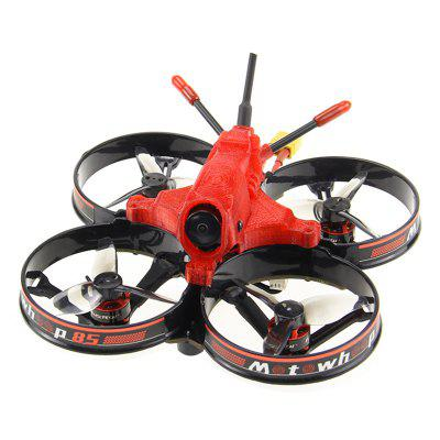 HGLRC Motowhoop 85mm 2 Inch 3S FPV Racing Drone F411 Flight Controller 13A 4-in-1 ESC 1103 Motor 400mW VTX Propeller Protective Guard