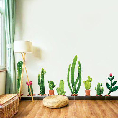 DIY Plant Wall Sticker PVC Mural Waterproof Removable Decorative Painting Wallpaper