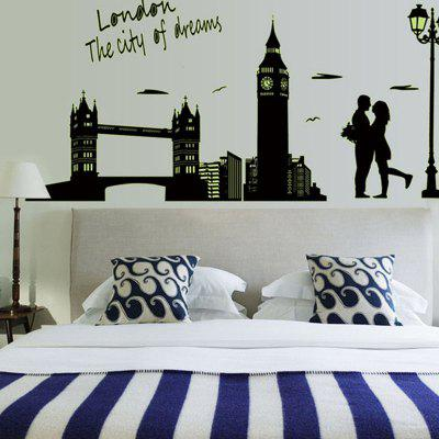 DIY Fluorescent Wall Sticker PVC Mural Waterproof Removable Decorative Painting Wallpaper