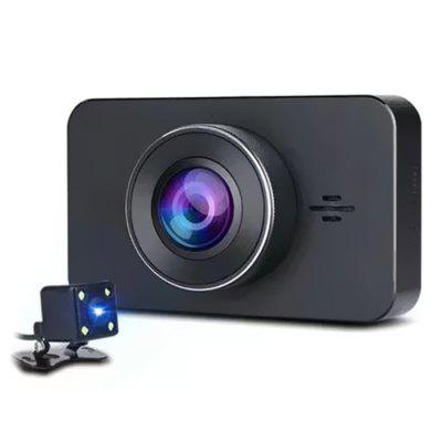 A8 3-inch LCD HD 1080P Dash Cam Parking Monitor Night Vision Car DVR Image