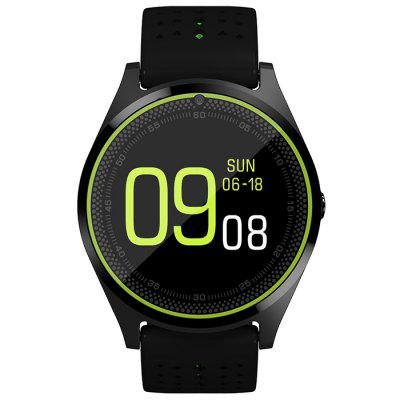 V9 Smart Watch Heart Rate Monitor Pedometer with Camera Bluetooth Calling Support SIM Card