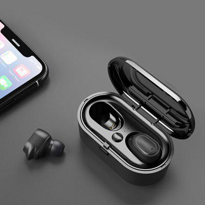 TWS Wireless Binaural Bluetooth 5.0 Earbud Headphones Mini Sports Waterproof In-ear True Stereo Earphones Headset