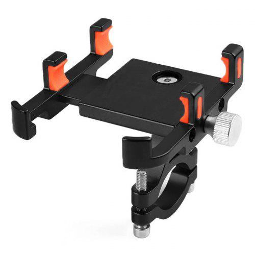 Bicycle Phone Holder Aluminum Alloy Electric Motorcycle Anti-shock Bracket Fixed Navigation Support