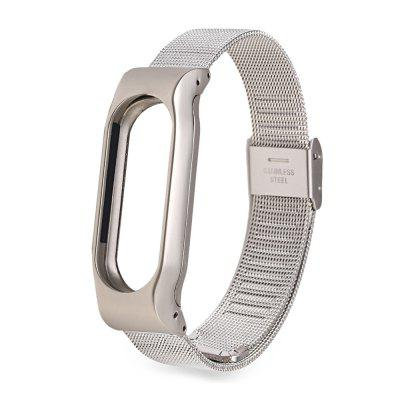 TAMISTER Metal Mesh Watch popruh pro Xiaomi Mi Band 2
