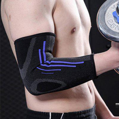 Sports Elbow Support Pad Elastic Gym Basketball Badminton Tennis Warm Joint Protection Safety Breathable Arm Sleeve Guard Brace
