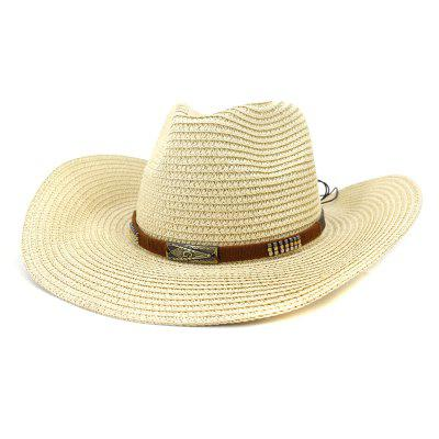 NZCM099 Seaside Beach Hat Sun Hat Outdoor Men Women kovbojský klobúk