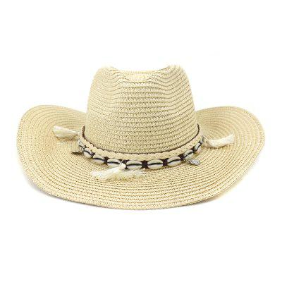 NZCM094 Outdoor Férfi Női Hat Seaside Beach Sun Cowboy Hat