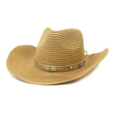 NZCM093 Outdoor Férfi Női Hat Seaside Beach Sun Cowboy Hat