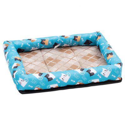 Summer Kennel Cat Mat Dog Ice Pad Mat Bed for Small and Medium Pet