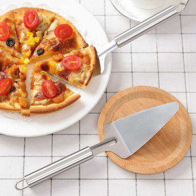 K1115 Kitchen Tools Stainless Steel Triangle Cheese Shovel Pizza Spatula