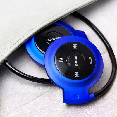Mini Bluetooth Headset Wireless Stereo Sports Card sluchátka