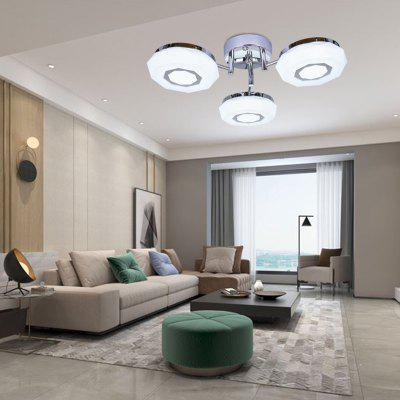 RENQ HOUSE ANDORRA PL3 Simple Bedroom Lamp RGB Ceiling Light LED with Remote Controller